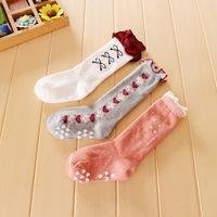 12pairs/lot kids knee high socks winter students ballet socks children's leg wamer free shipping