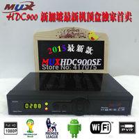 2pcs Latest Singapore Starhub box C600 Support Nagra3 Can get BPL+World Cup +HD channels Black box hd-c608 better than MVHD C1