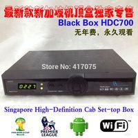 1pcs Latest Singapore Starhub Cable TV HD Set Top Box Black Box HD-C700 Plus watch nagra3 BPL new season free wifi  hd-c600