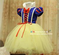 NEW Snow White Princess dress,costume,Elegant dress,party baby girl princess wear free shipping girls birthday dance baby gift