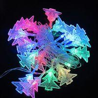 5M 20 LED Christmas Tree Shape String Lamp Crystal Festival Decoration 220V ZWQ10140