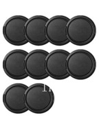 10 Pcs/lot  52MM Snap-on Front Lens Cap Cover for Digital SLR Camera free shipping