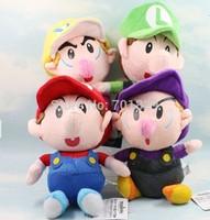 Super Mario Soft Plush SUPER MARIO BROSS PLUSH DOLL Baby Toy Plush Toys 4 Models