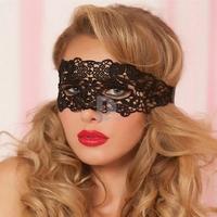 Black Elegant Venetian Princess Lace Mask Half-Face Eye Mask for Venetian Masquerade Ball Party Halloween Festival 340930510W