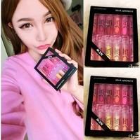 3CE brand 12 colors waterproof lipstick moisturizing lipsticks matte lipstick waterproof lipstick lip gloss 12PCS  M10018