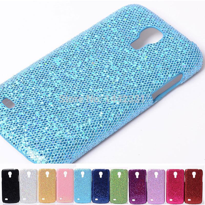 Sexy Lady Beauty Bling Shiny Football stripe rigid plastic PC Case Cover skin For Samsung Galaxy S4 IV Mini i9190(China (Mainland))