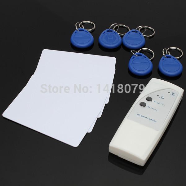 Portable Handheld 125KHz RFID Copier Duplicator Writable Card and Keyfobs Tags(China (Mainland))