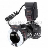 Meike Brand MK-14EXM Macro Ring LCD Flash Speedlite with Stand for Nikon Canon 5D III 6D 650D 500D 1000D 450D 30D