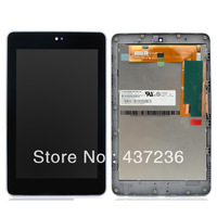 SZ LCD Display Touch Screen Frame Glass Assembly for Google Nexus 7 Free shipping F1138 T