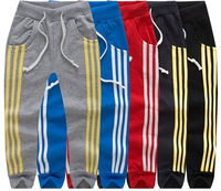 SKZ-289 Free Shipping 2014 New Kids Spring And Autumn Pants Baby Boys Fashion Long Trousers Child Casual Sports Pants Wholesale