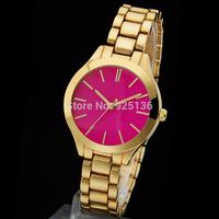 2014 top brand new women's michael with logo quartz watches women dress watch women's wristwatch free shipping