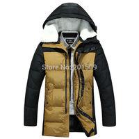 Parka Men Down Coat Super Deals Mens Winter Jackets And Coats With Hooded Big Size XXXL Special Light And Slim Hot