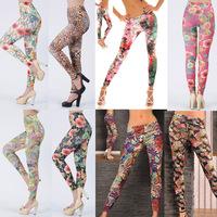 Hot!! Women Newest Fation Legging Winter Leggings Christmas Pinted Pants For Girls Fitness Sport Legging Jeggings