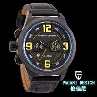 2014 hot New arrival Pagani Design CX-2652 Quartz watches men Diving chronograph Wristwatches