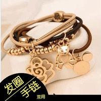 Cartoon style headband quality hair accessory hair accessory tousheng rubber band bracelet hair rope