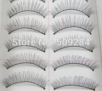 10 Pairs/Set Handmade Natural Long Thick Soft False Eyelashes Fake Eye Lash Extension Makeup Beauty For Women Wholesale