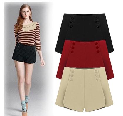 Amazing FanShou Free Shipping 2014 European Fashion Spring Summer Women Shorts