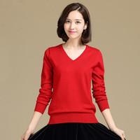 Cardigans 2014 Women Fashion Women's Cashmere Sweater V-neck Cashmere 11 Colors Long Sleeve Autumn Winter Knit Sweater AC012