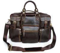 J.M.D 100% Genuine Cow Leather Handbags Fashion Totes Travel Bags Dispatch Briefcases # 7028Q
