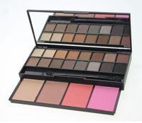 1pcs eauty Gfit New Make up 20 Color Natural Eyeshadow & Blusher Cosmetic Set Makeup, Free shipping