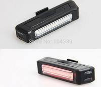 Comet USB Rechargeable Head Light COB High Brightness Red LED 100 lumen Front/Rear Bike Safety Light Pack