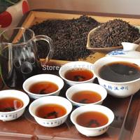 Made  in 2000 old Pu'er Tea loose tea wholesale 200g Black tea  old Top grade Chinese yunnan original Puer Tea  health care tea