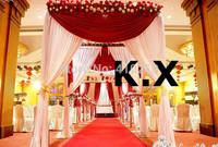 Free Shipping 2M*2M Square Wedding Backdrop Drape Curtain \Four Coner Wedding Drape