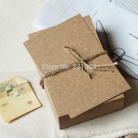 free shipping kraft paper card Postcards 100*150mm festival Christmas 10pcs