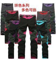 high quality 2014 winter fashion soft shell fleece women's climbing sports pants brand outdoor hiking waterproof charge trousers