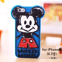high quality silicon case for iphone 6 4.7inch version