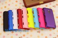 2Pcs/lot,Colorful Matte Plastic Hard Case for Nokia Lumia 620 phone Cases,Mobile phone bag&case,9 colors,free shipping