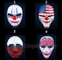 Hot Resin Game Payday 2 Dallas Masks Costume Prop Dress Heist Joker Cosplay XP-003