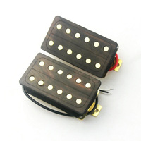 Double Coils Humbucker Style Pickups Suitable For Use In Stratocaster Guitar - Wood Cavity
