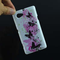 Various Styles Butterfly Retro UK Flag Leopard TPU Soft Skin Cover Case For Sony Xperia L S36h phone case