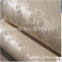 53cmwidth*100cmlength  2014 New TOP Sale Nonwovenn fabrics wallpaper European style bedroom living room  backdrop Decoration