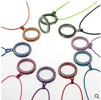 DIY necklace wholesale  Hot sale cheap floating jewelry  Zinc alloy floating locket necklace