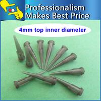 4mm diameter 15 Gage Plastic Tapered Pinhead Glue Liquid Dispenser Needles free shipping
