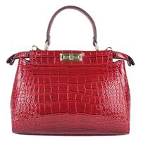 Fashion Alligator Women Handbag Genuine Leather Bag Fashion Women Bag Solid Shoulder Bag Hot Sale Bolsas Women  Messenger Bags