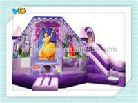 2014 hot selling inflatable combo jumper&slide for kids