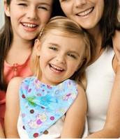 High Quality Baby Kid Toddler Bandana Bibs Saliva Towel Dribble Triangle boy girls cotton Head Scarf 10 Pieces/Lot
