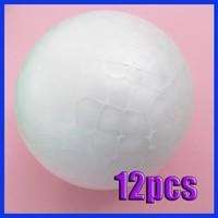 12x 70MM Modelling Polystyrene Styrofoam Foam Ball Sphere XMAS Decoration Craft