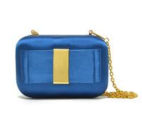 Desigual 2014 classic women butterfly goose egg blue evening bag party cluch bag gold chain shoudler handbag brand p ys y bag