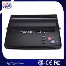 Lowest Price HOT  New Stye Brand Professional Black Tattoo Thermal Transfer Copier Printer Stencil Machine  A4 transfer paper(China (Mainland))