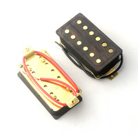 Double Coils Humbucker Style Pickups - Made Of Wood Cavity