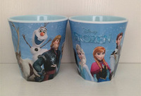 Hot!!In Stock.2PC FROZEN water kids cartoon doll children cups cute cup,Frozen doll handle cups, Free Shipping