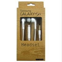 Retail packaging 1.2M Headphones & Earphones & Headsets For Samsung GALAXY SII S2 SIII S3 S4 Ace N7100 7000 I9300 I9100 handfree