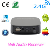 Music Radio Receiver Wireless Wifi Audio Streaming Receiver Wifi Audio Receiver DLNA Airplay Sharing Music for iOS/Android