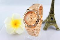 2014 recommend clock Contena fashion quartz women watches three eyes luxury diamond ladies watch female wristwatches