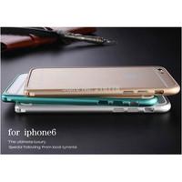For Apple Iphone 6 (4.7) iphone6 plus (5.5) Ultra thin Slim Aluminium Metal Bumper Frame Case Drop shipping