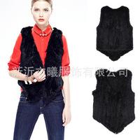 Aliexpress eaby explosion models of imitation fur vest jacket plush fur vest vest waistcoat